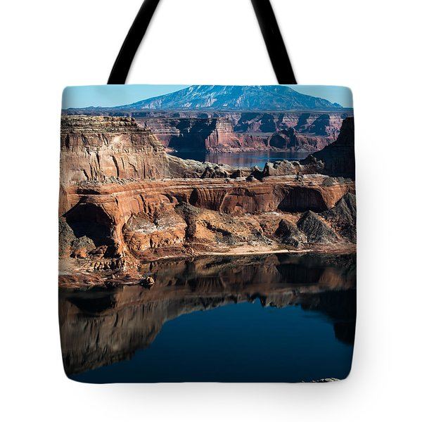 Deep Reflections In Lake Powell Tote Bag