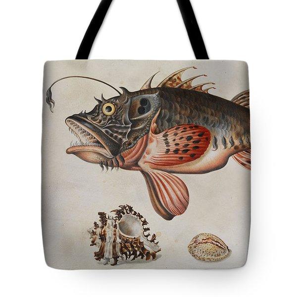 Deep-sea Fish, Crabs And Sea Snails Tote Bag