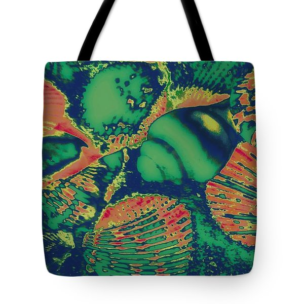 Deep Sea Journey Tote Bag by Rachel Hannah