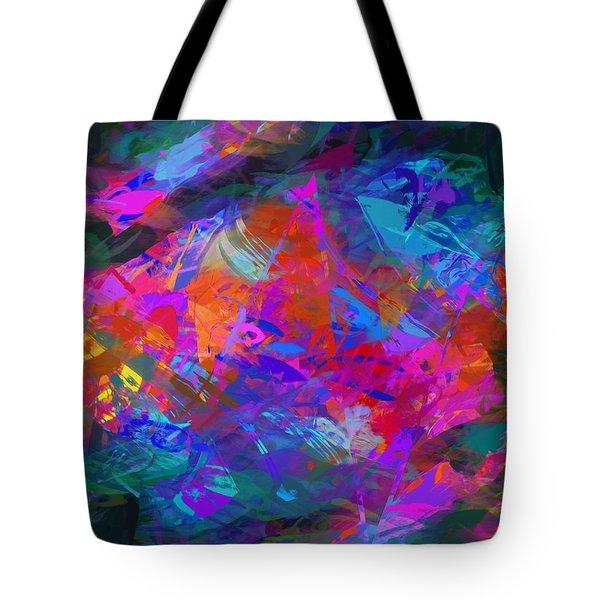 Deep Sea Tote Bag by Karo Evans