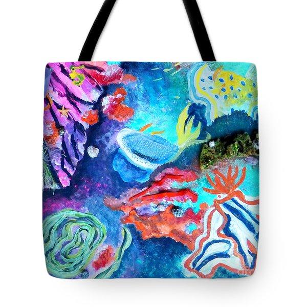 Deep Sea Nudibranch Tote Bag