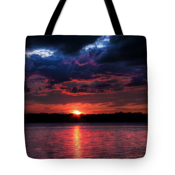Tote Bag featuring the photograph Deep Sky by Michaela Preston