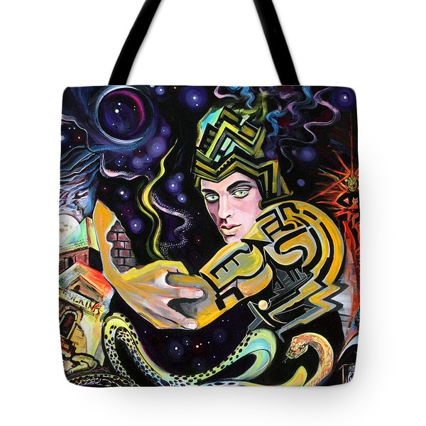 Deep Space Eleven Tote Bag by Yelena Tylkina