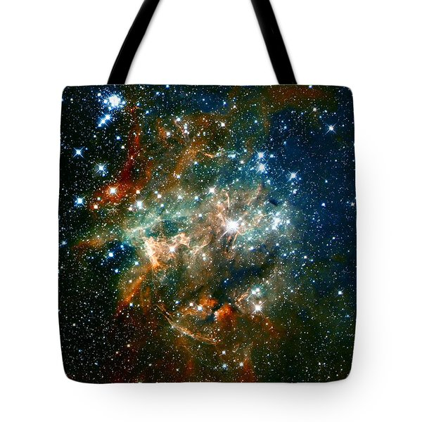 Deep Space Star Cluster Tote Bag by Jennifer Rondinelli Reilly - Fine Art Photography