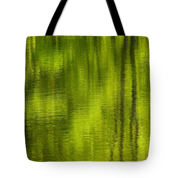 Deep Summer Reflection Tote Bag