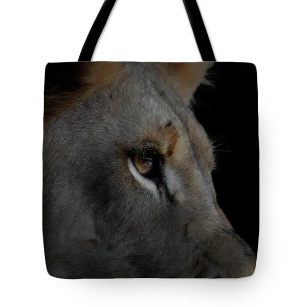 Deep Thought Tote Bag by Ernie Echols
