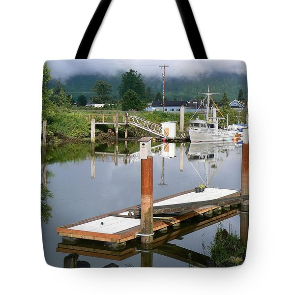 Deep Water Channel Tote Bag by Pamela Patch