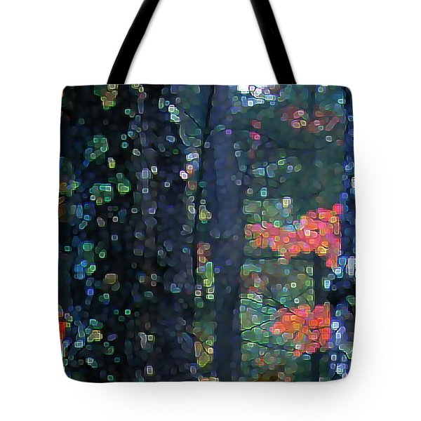 Deep Woods Mystery Tote Bag by Dave Martsolf