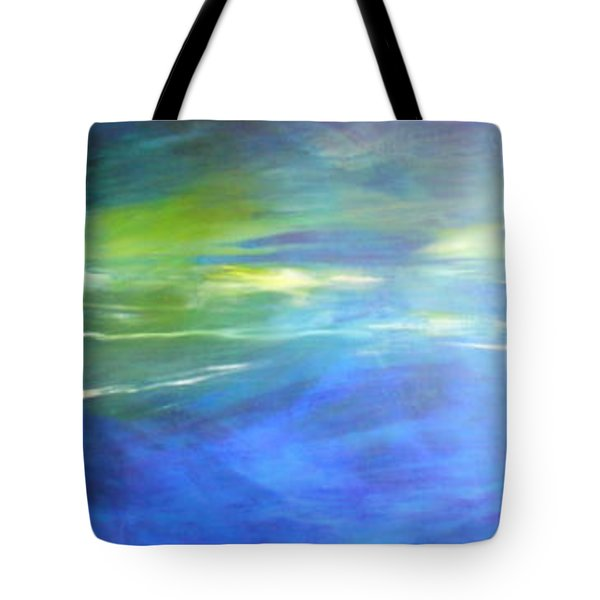 Tote Bag featuring the painting Deeper And Deeper by Mary Sullivan