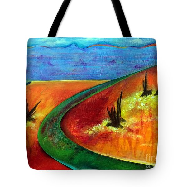 Deeper Than It Seems Tote Bag by Elizabeth Fontaine-Barr