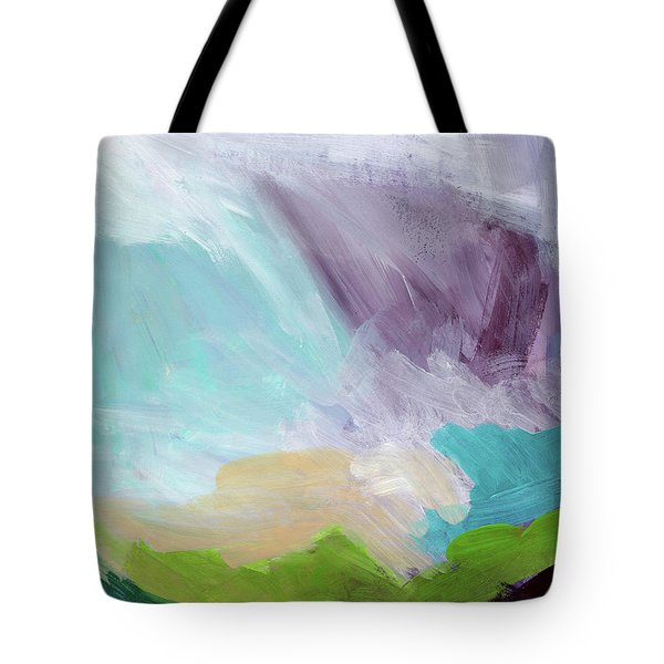 Deepest Breath- Abstract Art By Linda Woods Tote Bag