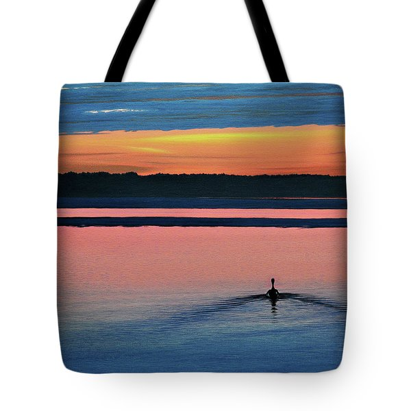 Deepest Sunset Tote Bag by Kenneth M Kirsch
