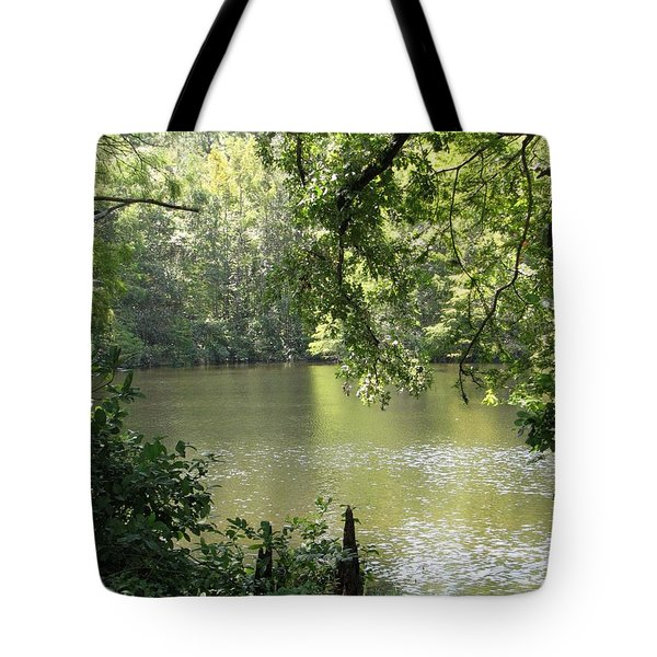 Tote Bag featuring the photograph Deepwood Retreat by John Glass