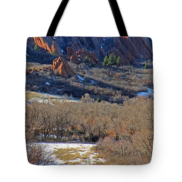 Deer At Roxborough Tote Bag