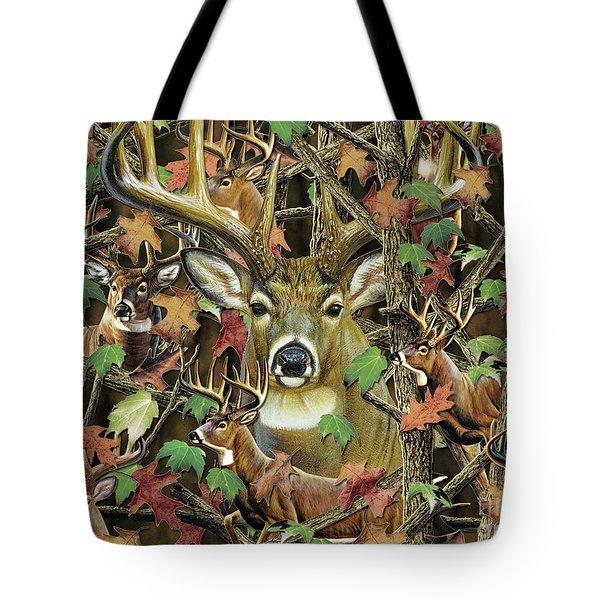 Deer Camo Tote Bag
