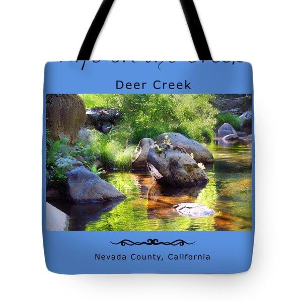 Deer Creek Ferns Tote Bag