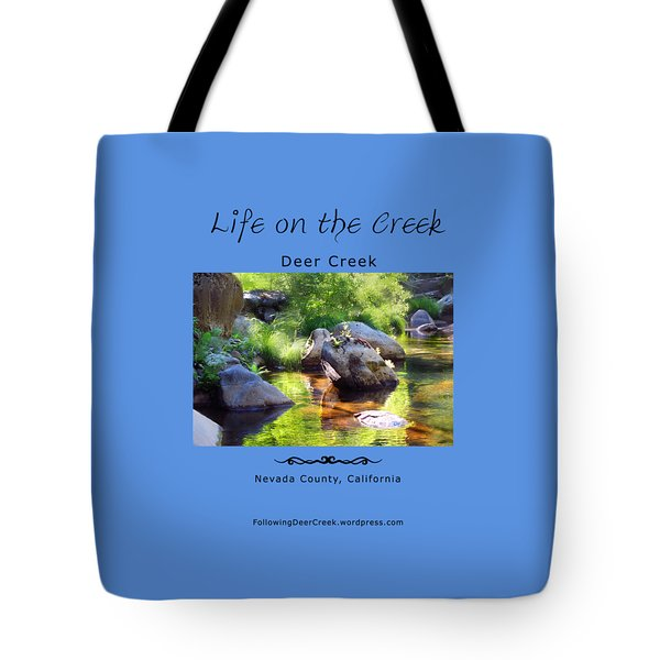Deer Creek Ferns Tote Bag
