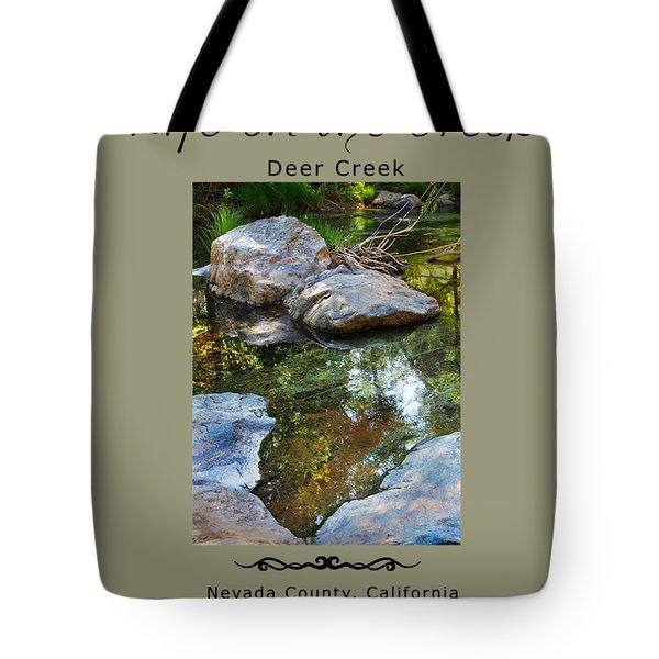 Deer Creek Point Tote Bag