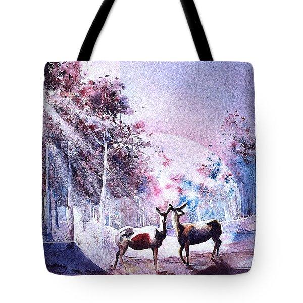 Deer Enchantment Tote Bag