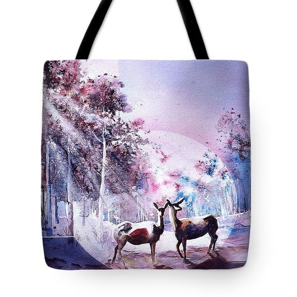 Deer Enchantment Tote Bag