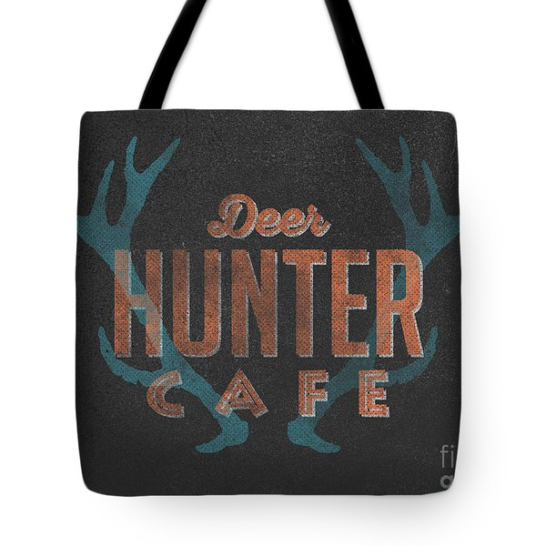 Deer Hunter Cafe Tote Bag