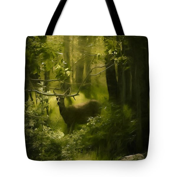 Deer In The Woods - 2 Tote Bag