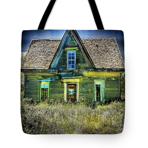Deer Isle Haunted House Tote Bag