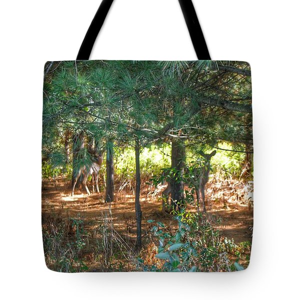 1011 - Deer Of Croswell I Tote Bag