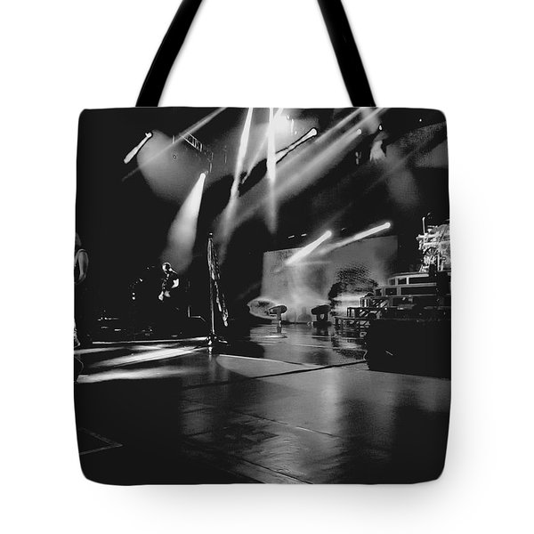 Def Leppard At Saratoga Springs 2 Tote Bag by David Patterson