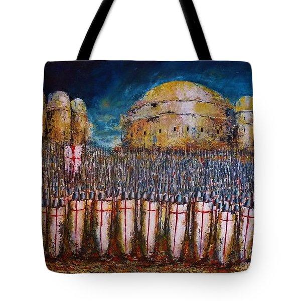 Defence Of Jerusalem Tote Bag