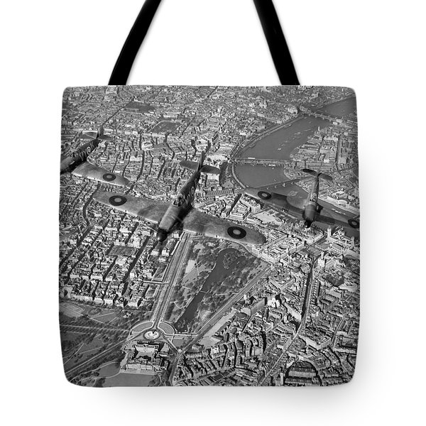 Tote Bag featuring the photograph Defence Of The Realm by Gary Eason
