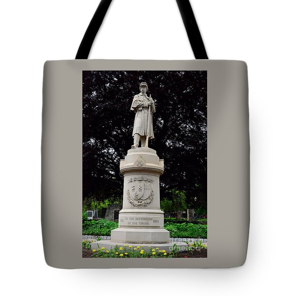 Defenders Of The Union Tote Bag
