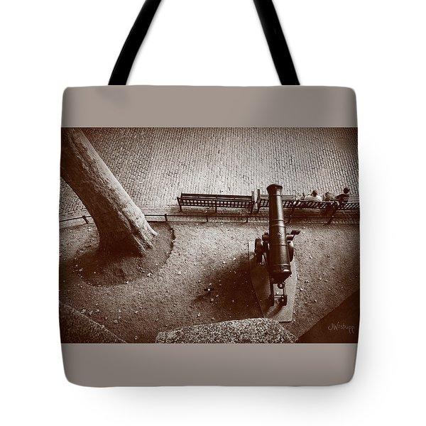 Defending London Tote Bag