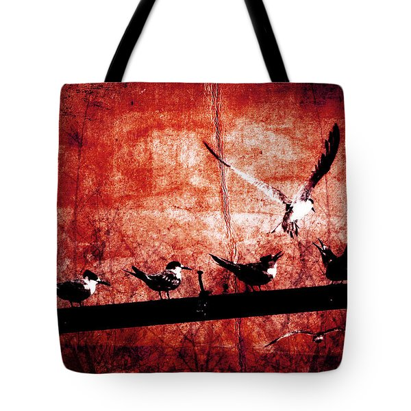 Defiance Tote Bag by Andrew Paranavitana