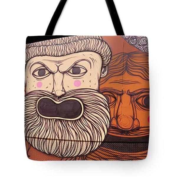 Defiant Graffitti Tote Bag