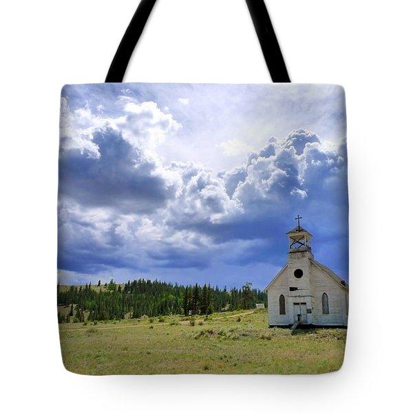 Defiant Tote Bag by Skip Hunt