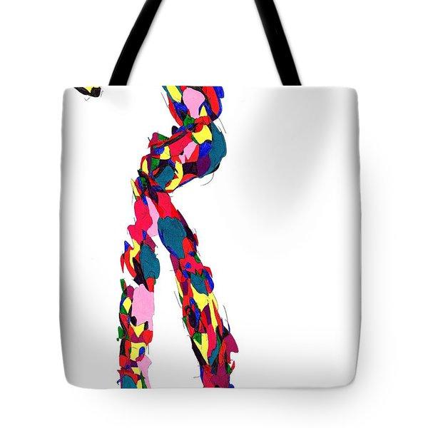 Definism Stretch Tote Bag