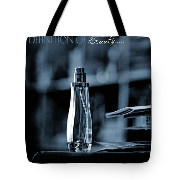 Definition Of Beauty Blue Tote Bag