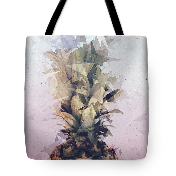 Defragmented Pineapple Tote Bag