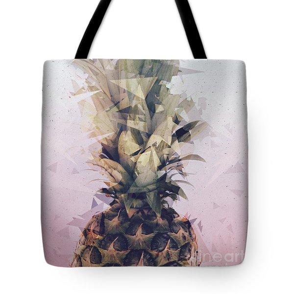 Defragmented Pineapple Tote Bag