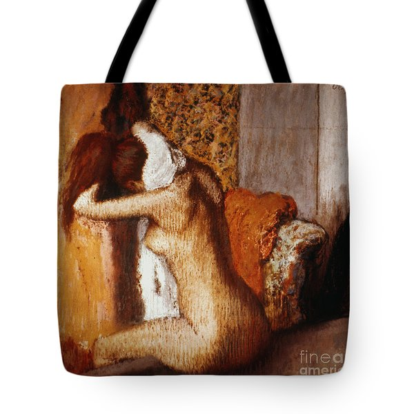 Degas: After The Bath Tote Bag by Granger
