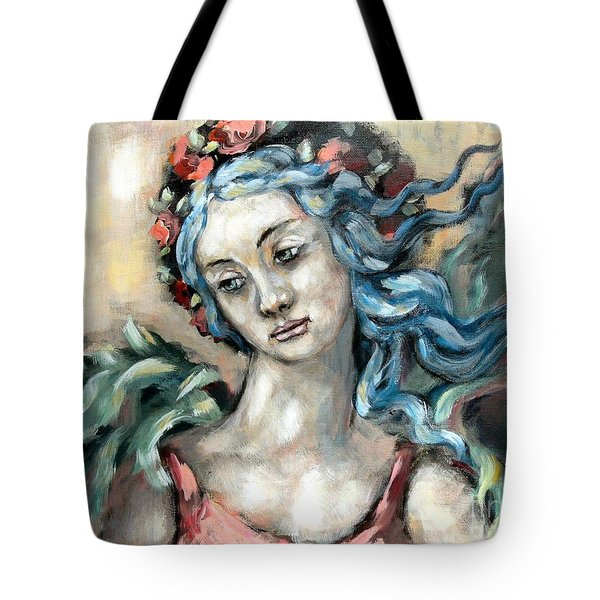 Degas Angel Tote Bag