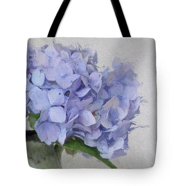 Degas Hydrangea Tote Bag