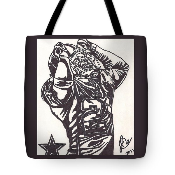 Deion Sanders Tote Bag by Jeremiah Colley