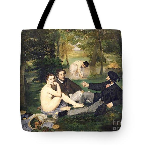 Dejeuner Sur L Herbe Tote Bag