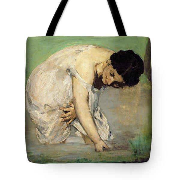 Dejeuner Sur Lherbe Tote Bag by Edouard Manet