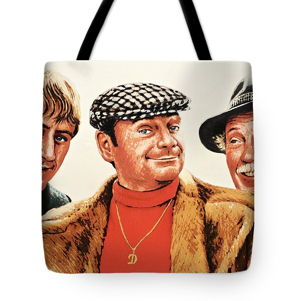Del Boy Rodney And Grandad Tote Bag