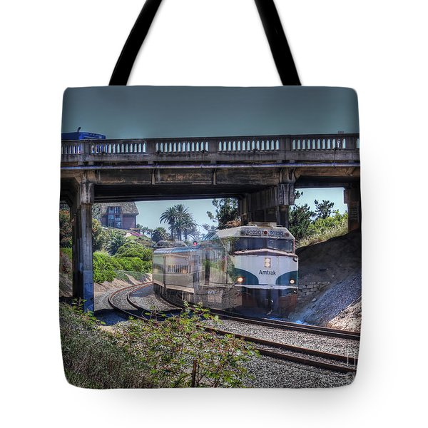 Del Mar Amtrak Tote Bag