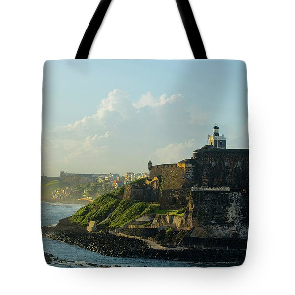 del Morro Sunrise Tote Bag