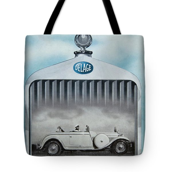 Tote Bag featuring the photograph Delage #8712 by Hans Janssen
